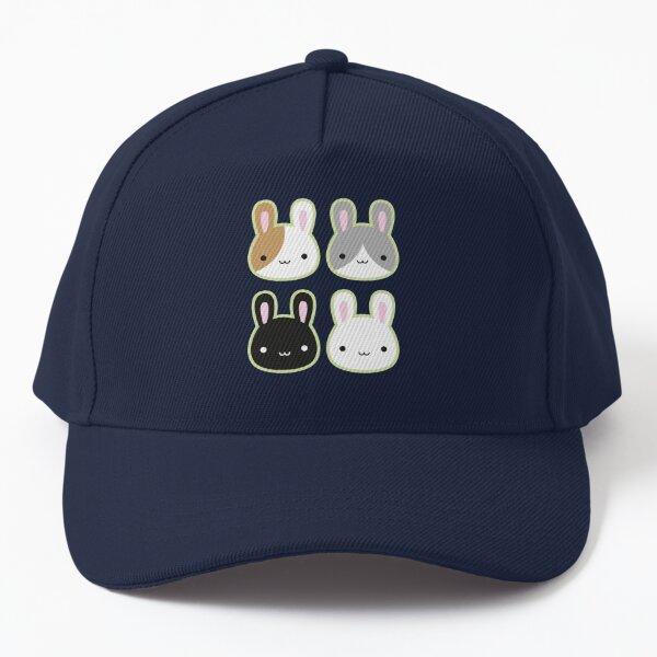 Kawaii Bunny Rabbits Baseball Cap