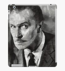 Vincent Price Hollywood Actor iPad Case/Skin