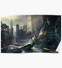 Crysis - New York Landscape Poster