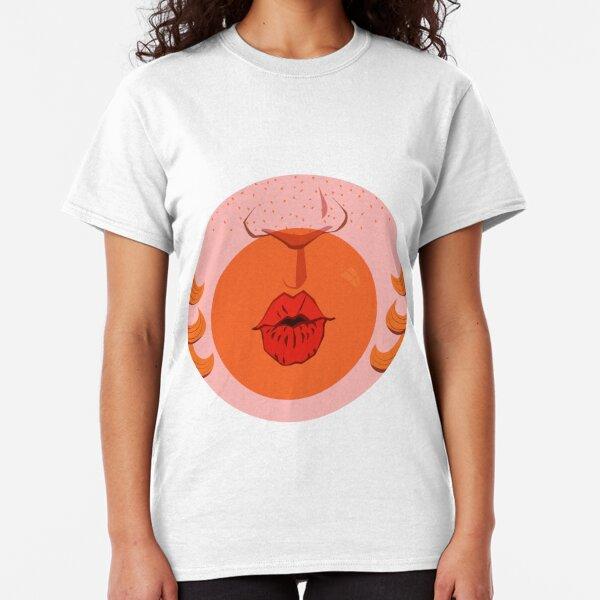 Orange Bubblegum Balloon  Classic T-Shirt