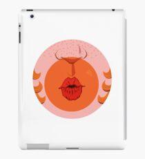 Orange Bubblegum Balloon  iPad Case/Skin