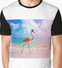 crowned flamingo Graphic T-Shirt