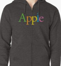 Apple Retro Zipped Hoodie