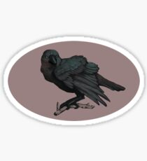 The Three Eyed Crow Sticker
