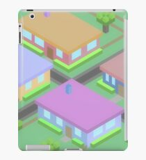 Neighborhood Houses iPad Case/Skin