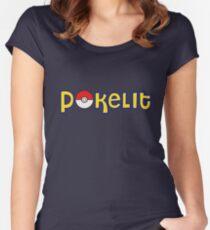 Pokelit Pokemon Women's Fitted Scoop T-Shirt