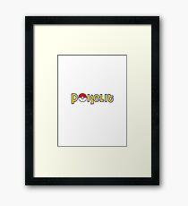 Pokelit Pokemon Framed Print