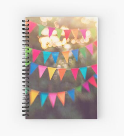 Let the celebrations begin! Spiral Notebook