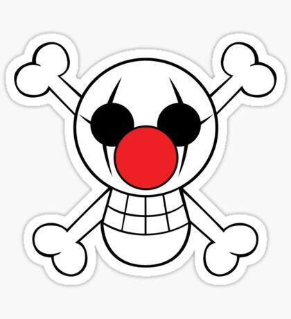 Buggy Jolly Rogger Sticker