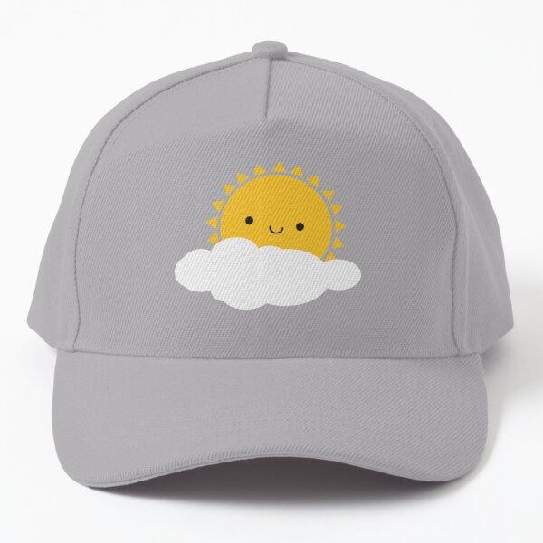 Hello Sunshine - Kawaii Sun  Baseball Cap