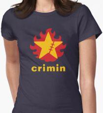Crimin Brand Fire Star Women's Fitted T-Shirt