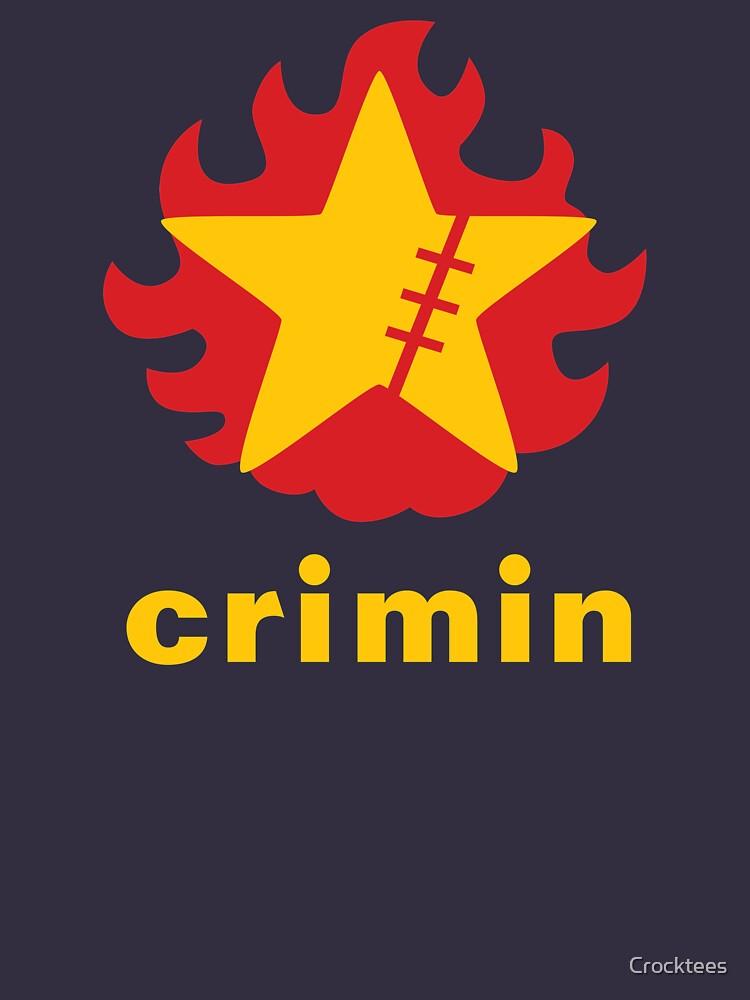 Crimin Brand Fire Star by Crocktees
