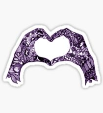 Above & Beyond Inspired Heart of Hands Sticker