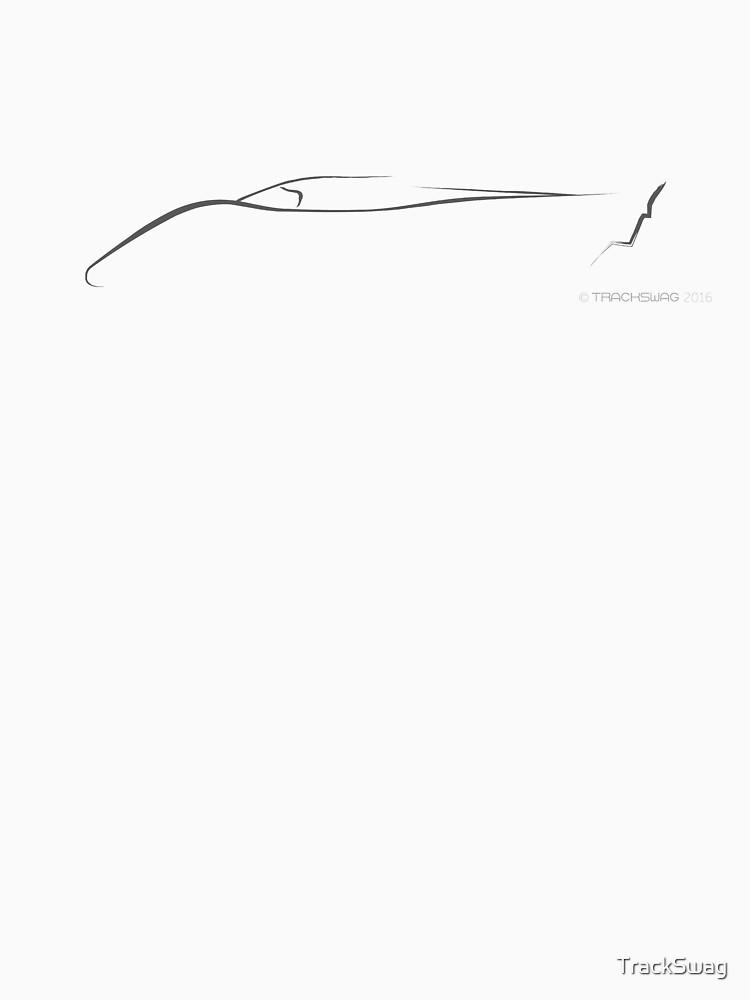 Profile Silhouette Porsche 917 - black by TrackSwag