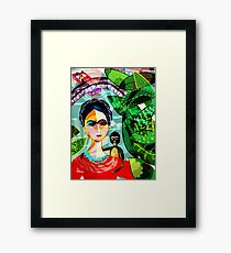 Frida at the Riverwalk Framed Print