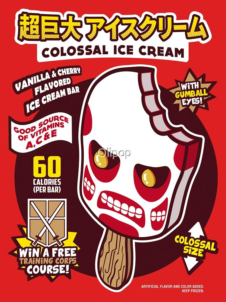 TShirtGifter presents: Colossal Ice Cream | Unisex T-Shirt