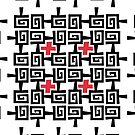 Red and black pattern by JaymeArt