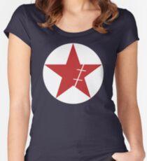 Zoro Crimin Star Women's Fitted Scoop T-Shirt