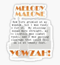 Yowzah! Sticker