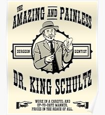 Dr. King Schultz Poster