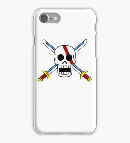 Red Hair Pirates Jolly Roger iPhone Case/Skin