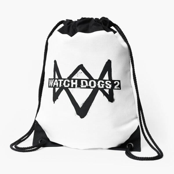 Watch Dogs 2 Logo Drawstring Bag