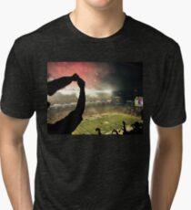 Football Night in Pittsburgh Tri-blend T-Shirt