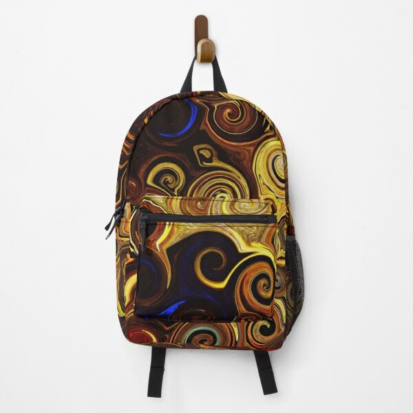Retro swirls pattern  Backpack