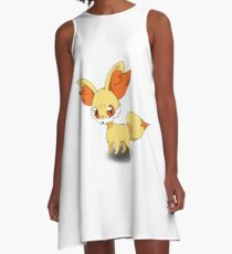 Fennekin Pokemon A-Line Dress