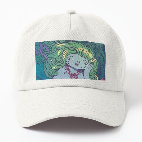 Dreamy mermaid Dad Hat