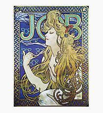 Alphonse Mucha - Job 1898  Photographic Print