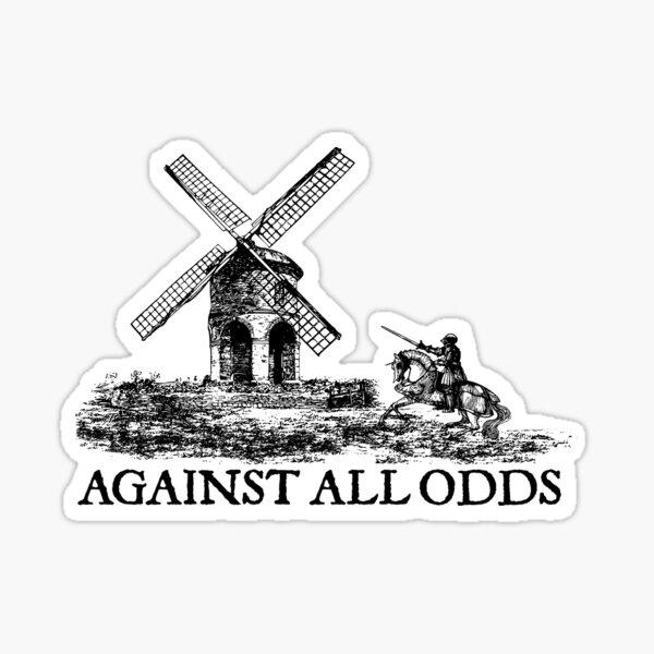don quixote don quijote retro motivation vintage knight lifestyle deep Sticker