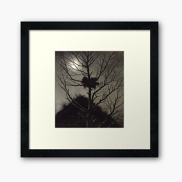 Desolation Theodor Kittelsen Framed Art Print