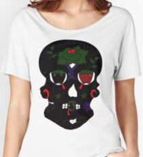 Gothic Sugar Skull Women's Relaxed Fit T-Shirt
