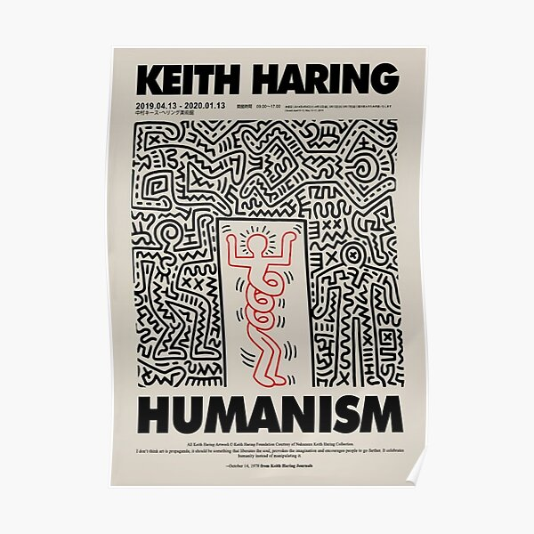 Humanismus Frühling Keith Poster Poster