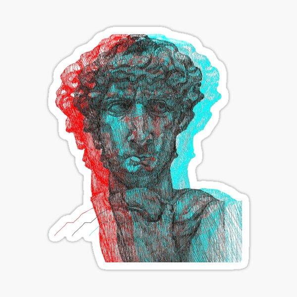 3D@vid Sticker
