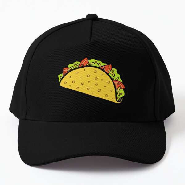 It's Taco Time! In Pink! Baseball Cap