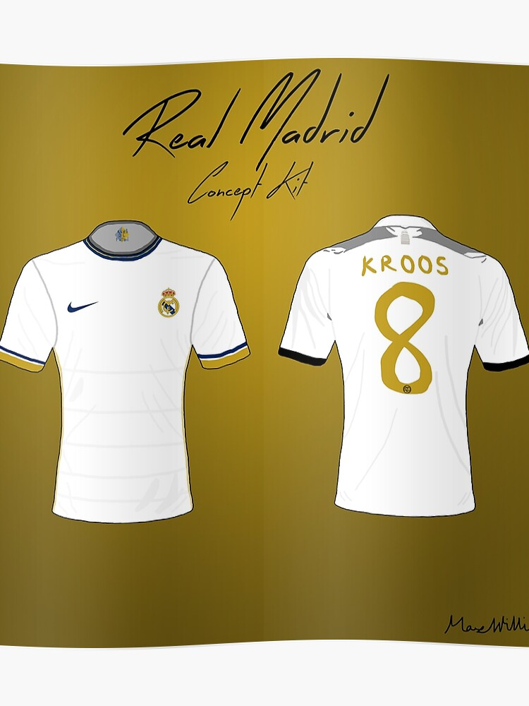 best cheap a626f a72ba Real Madrid Nike Concept Kit | Poster