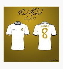 Real Madrid Nike Concept Kit Photographic Print
