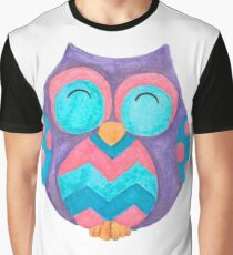Noodle the cute cheeky owl Graphic T-Shirt
