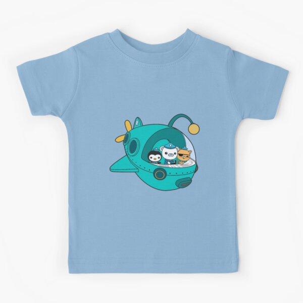 Kwazii Character From Octonauts   Kids T-Shirt