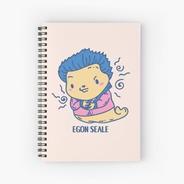Egon Seale Funny Animal Artist pun  Spiral Notebook