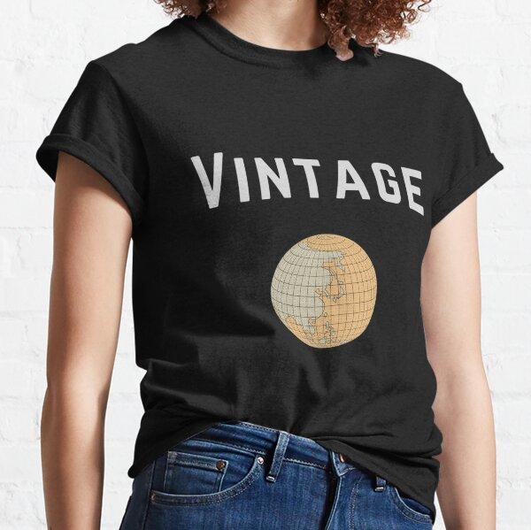 Vintage Globe Classic T-Shirt