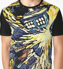 Exploding Tardis Graphic T-Shirt