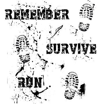 Remember, Survive, Run. Maze Runner by Jonilargo