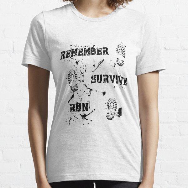 Remember, Survive, Run. Maze Runner Essential T-Shirt