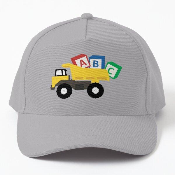 ABC Dump Truck Construction Trucks Baseball Cap