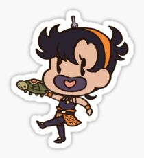 Passion Fruit: Orange Gremlin Sticker
