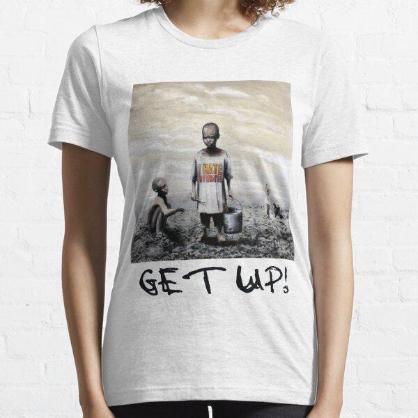 Banksy children tshirt graff GET UP! Essential T-Shirt
