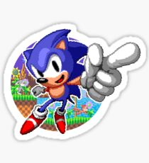 SONIC WINS Sticker